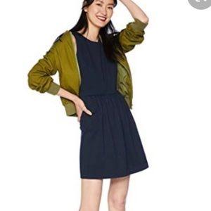 J Crew Navy Blue Knit Mini Dress Sleeveless